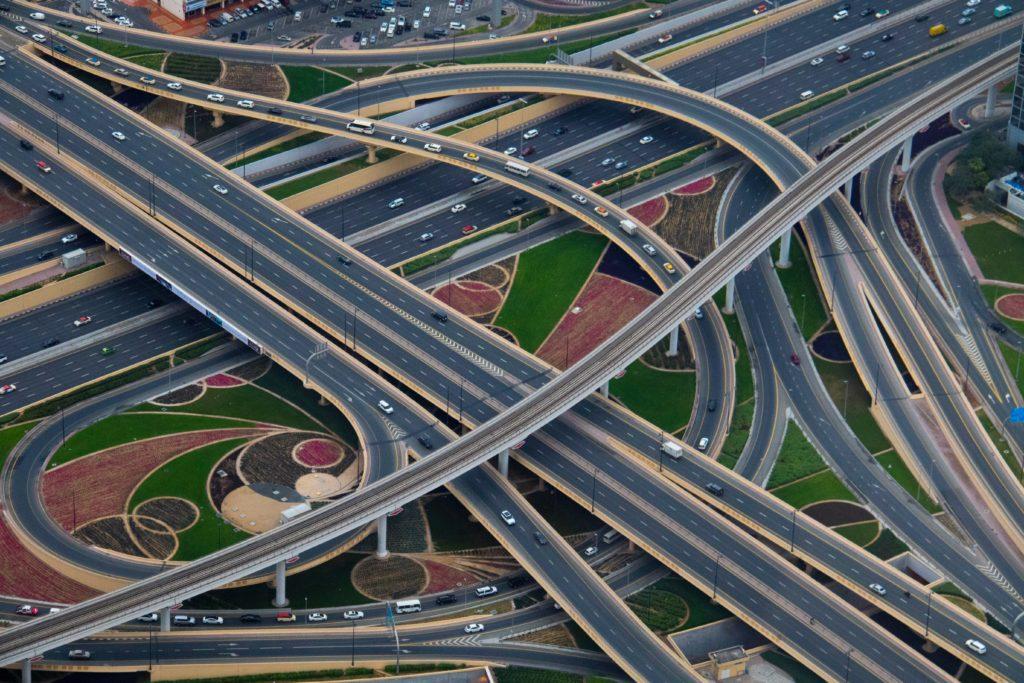 Viadutos e transportes